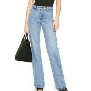 NWT Helmut Lang wide leg jeans